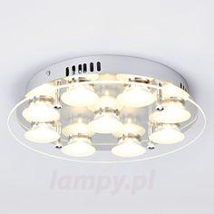 Okrągła lampa sufitowa LED Antoniu