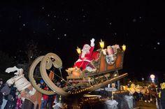 Kerstparade op 26 december 2015. Feeërieke, wondermooie parade in de straten van Koksijde.