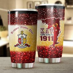 Kappa Alpha Psi Fraternity, Insulated Tumblers, Holiday Festival, Sell On Etsy, Fun Projects, Keep It Cleaner, Pure Products, Greek Life, Drinkware