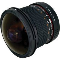 Rokinon 8mm f/3.5 HD Fisheye Lens with Removable Hood for Canon