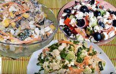 Легкие, аппетитные и очень вкусные! Russian Dishes, Russian Recipes, Russian Foods, Top Salad Recipe, Salad Recipes, Appetizer Salads, Baked Oatmeal, Kefir, Food Dishes