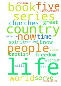 Pray for the Spirit-led Life ministry please. -  Your opportunity to be involved in the Spiritual reawakening five book series will prove to be a great blessing unlike anything seen in modern history. This is especially true because of Gods direct guidance and intervention to create the book series and to show me exactly what He wants for all people to realize what is needed to make these changes necessary. Hello My name is John F. Draft. I had served in the military during the Vietnam war…