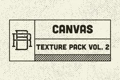 FREE the Week of 7/28! Check out Texture Pack Vol. 2 Canvas by Rob Brink on Creative Market