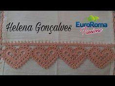 New crochet heart necklace pattern simple 66 ideas Crochet Home, Crochet Trim, Knit Crochet, Crochet Boarders, Crochet Edging Patterns, Crochet Mermaid Tail, Crochet Baby Beanie, Crocodile Stitch, Crochet Videos