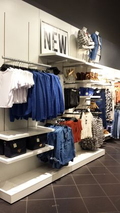 Merchandising and styling SP15' Into the Blue Newlook Meadowhall
