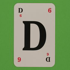 Lexicon Card Letter D by Leo Reynolds, via Flickr