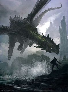 Amazing dragon by ?