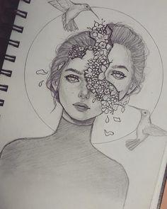 ♥✏ #sketches #sketch #sketching