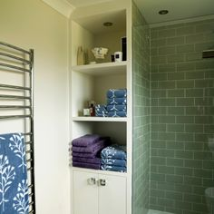 Tiny En Suite Shower Room With Oodles Of Character And Storage Bathroom Design By Nicola Holden Designs Decorating And Design At It S Best
