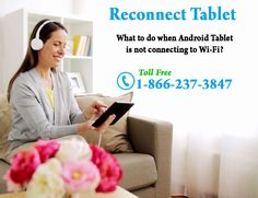 Troubleshoot issues related to #WiFiConnectivity on your #Tablet. Get expert support to #ReconnectTablet . Call @1-866-237-3847 toll free number for 24/7 help and support http://webmatesolution.com/tablet-support.htm