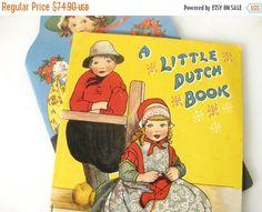 A Little Dutch Book Original 1900 McLoughlin Bro's by KSTigerlily