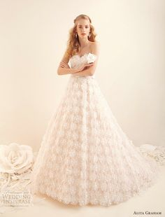 Alita Graham @   http://weddinginspirasi.com/2012/05/17/alita-graham-fall-2012-wedding-dresses/
