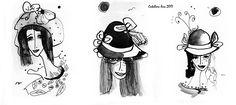 """""""Women"""". 20x30 cm. Paper. Gouache. http://www.facebook.com/thecatalinalira"""