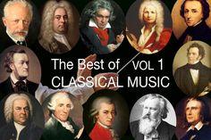 クラシック音楽の最高の Vol I: モーツァルト, Bach, ベートーベン, Chopin  , Wagner