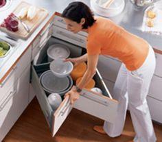 #cocinas Tipos de muebles para organizar tu cocina #madrid                                                                                                                                                      Más