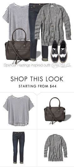 """""""Spencer Hastings inspired outfit/PLL"""" by tvdsarahmichele ❤ liked on Polyvore featuring Athleta, Abercrombie & Fitch, rag & bone and Essentiel"""