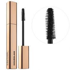 Hourglass Caution Extreme Lash Mascara Standard Size Black - 0.33 oz/ 9.4 g #HowToApplyMascara Mascara Brush, Mascara Tips, How To Apply Mascara, Applying Mascara, Makeup Geek, Beauty Makeup, Eye Makeup, Sephora Makeup, Beauty Tips