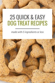 Healthy Dog Treats 22 Simple Dog Treat Recipes With 5 Ingredients or Less. - Looking to make some homemade dog treats? Here's 25 simple dog treat recipes, all made with 5 ingredients or less. From grain free treats to frozen Puppy Treats, Diy Dog Treats, Healthy Dog Treats, Homeade Dog Treats, Healthy Teeth, Treats For Puppies, Puppies Gif, Homemade Dog Cookies, Best Treats For Dogs