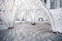 Web-Like Lattice Architecture - The La Voute de Le Fevre is Impressively Voluminous (GALLERY)