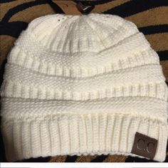 CC Chunky knit beanie Chunky knit beanie. These are warm and cozy for cold weather. They are gorgeous thick and very soft and warm. Comes in lots of great colors and a top seller. CC Accessories Hats