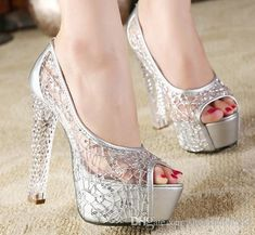 47ecf48fcf283c 2017 Sexy Hot Sell Bride Shoes Lace Fish Mouth Shoes Crystal High Heel  Wedding Shoes Shuoshuo6588 Online Womens Shoes Pewter Evening Shoes From  Shuoshuo6588 ...