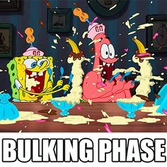 Anything goes during bulking! Right?  www.bodybuildingwarehouse.com