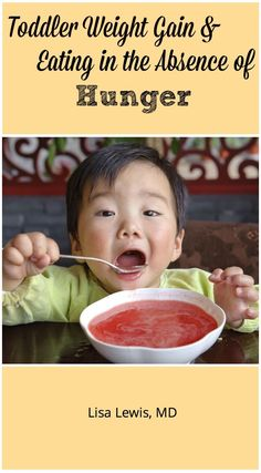 The American Academy of Pediatrics published an article May 2016 showing that eating without hunger increases toddler weight gain. Here's how to help. Nutrition Month, Kids Nutrition, Nutrition Tips, Lisa Lewis, Picky Eaters Kids, Food Intolerance, Kids Health, Children Health, Women Health