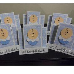 $5.00 6 Baby Thank You Cards by HouseofCards on Handmade Australia