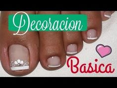 Discover recipes, home ideas, style inspiration and other ideas to try. Feet Nails, Toe Nail Designs, Manicure And Pedicure, Beauty, Foto Instagram, Youtube, Trinidad, Anime, Nail Design