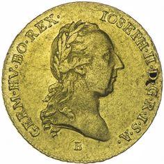 2 Dukat 1786 B RDR Haus Österreich Josef II. 1765/80 - 1790