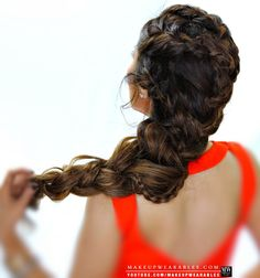 Fancy Braids in Braid #Hairstyle | Pretty #hair #style for fall