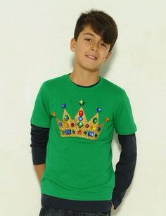 CROWNKids COOL & SPARKLY t-shirts...£36