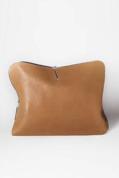 Phillip Lim leather clutch