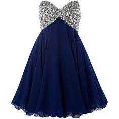 Forever Unique Strapless Diamante Prom Dress ($515) ❤ liked on Polyvore featuring dresses, vestidos, short dresses, blue dresses, women, short prom dresses, short blue dresses, blue dress, prom dresses and blue strapless dress