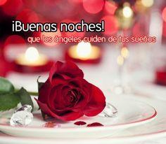 Imagenes de Rosas Con Mensajes De Buenas Noches