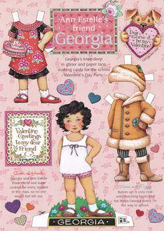 Mary Engelbreit valentine  taken from her old Home Companion magazine