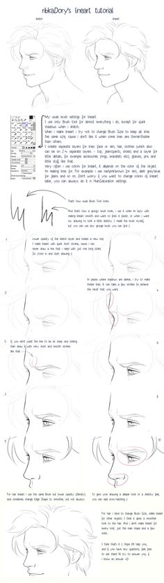 line art tutorial
