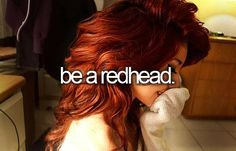 Or at least a reddish brunette...