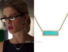 "Felicity wears Melanie Auld in 4x07 ""Brotherhood"""