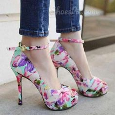 Floral heels. I can has???