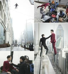 Kim Soo-Hyun and Shin Sung-Rok behind the scenes of  ' You Who Came From the Stars ' #kdrama