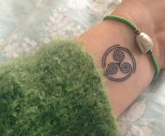 My triskele tattoo #triskele #celtic #Irish #wheel of life #St.Kilda ink