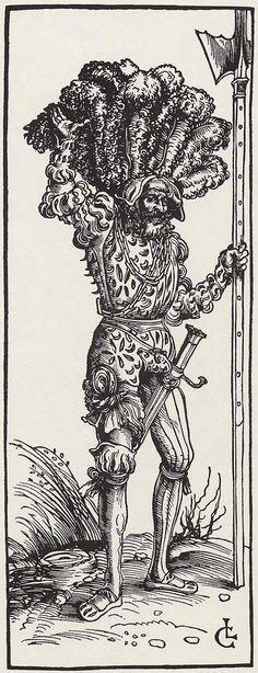 Cranach d. Ä., Lucas: Landsknecht, um 1505