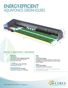 Energy-Efficient Aquaponics Greenhouses | Ceres Greenhouse