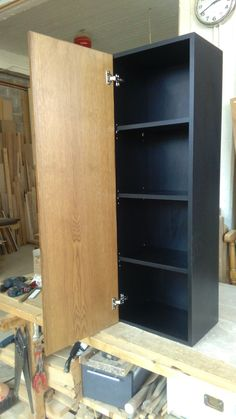 Tall Cabinet Storage, Woodworking, Furniture, Home Decor, Decoration Home, Room Decor, Home Furnishings, Joinery, Wood Working