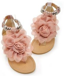 Most adorable flats! Our Bohemia Flower Sandals will make you feel comfortable and chic any time of the day and will be the go to shoes for any outfits! Department Name: Adult Item Type: Sandals Shoe