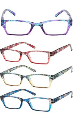 A paisley floral print to brighten up your outfit and your day. Love your glasses. Readers.com