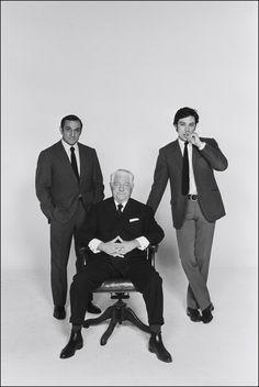Promo for Le clan des Siciliens; with Lino Ventura and Jean Gabin.