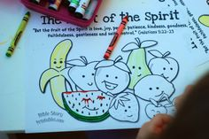 better than i could have imagined: fruit of the spirit- preschool/toddler lessons