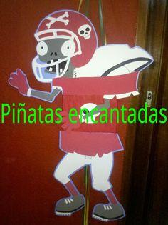 PIÑATA PLANTAS VS ZOMBIES!!